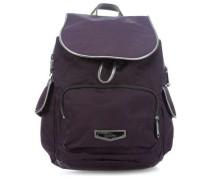 City Pack S Rucksack pflaume