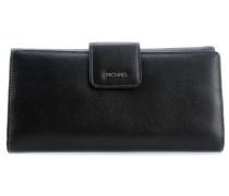 Ladysafe RFID Geldbörse schwarz