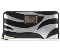 Deva Geldbörse schwarz/silber