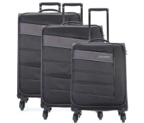 Kite Set 4-Rollen Trolley Set schwarz