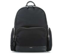 Mayfair Barlow Laptop-Rucksack 15″ schwarz