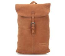 Leather Ciera Laptop-Rucksack 15″ rostbraun