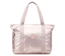 Basic Plus Asseni Shopper metallic pink