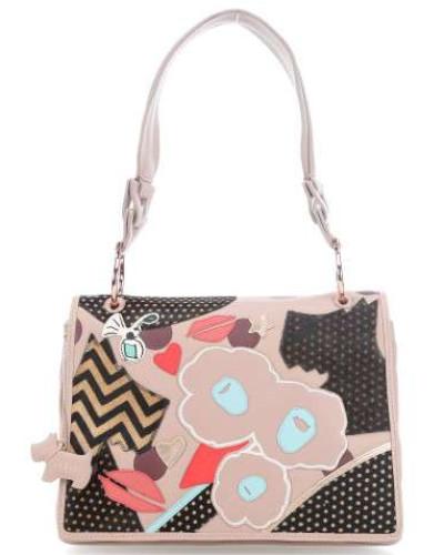 Summer Street Handtasche mehrfarbig