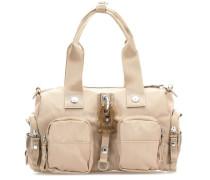Roots Solid Zoomy Handtasche beige