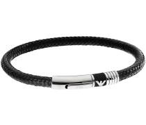 Heritage Armband schwarz/silber