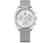 Sport Luxury Chronograph silber