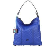 Black Sofia M Beuteltasche blau