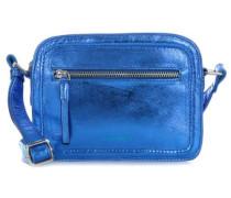 Lovebug Schultertasche blau metallic