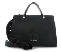 Lovely Pom Pom Handtasche schwarz
