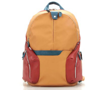 Coleos Laptop-Rucksack 13″ rot/orange