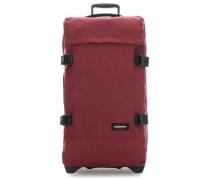 Tranverz Rollenreisetasche wein