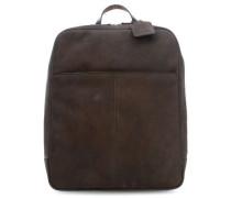 Hudson 14'' Laptop-Rucksack braun