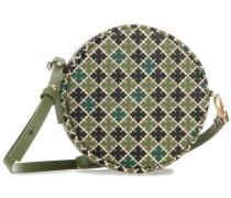 Circle Umhängetasche schwarz/grün