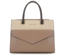 Signature Handtasche beige