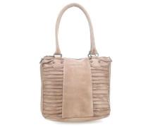 So Sweet Riffel Handtasche beige