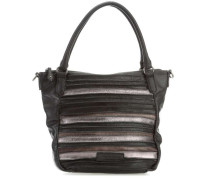 Pop Art Handtasche schwarz
