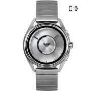 Connected Smartwatch silber