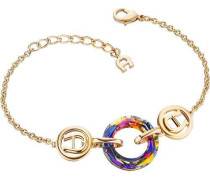 Fashion Colour Rings Armband gold