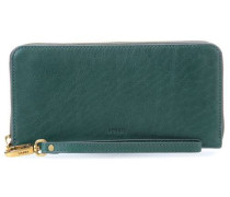 Emma Geldbörse dunkelgrün
