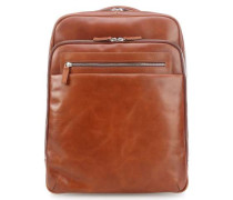 Chicago Laptop-Rucksack 14″ cognac
