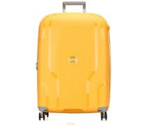 Clavel 4-Rollen Trolley gelb