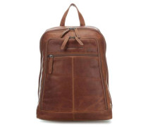 James Laptop-Rucksack 14″ cognac