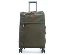 X-Travel 4-Rollen Trolley olivgrün