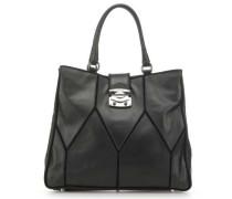 New York Patchwork Handtasche schwarz