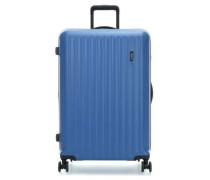 Riccione 4-Rollen Trolley aqua cm