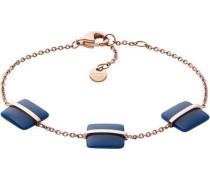 Sea Glass Armband roségold