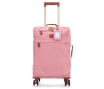 Life 4-Rollen Trolley rosa cm