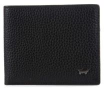 Turin RFID Geldbörse schwarz