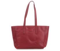 ShopperME9 Handtasche dunkelrot