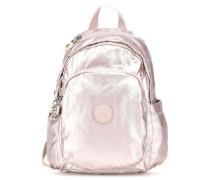 Basic Plus Delia Mini Rucksack metallic pink