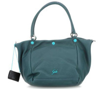Basic Viola M Shopper dunkelgrün