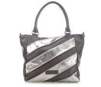 Tornado Handtasche silber/grau