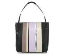 Penhurst Stripe Shopper schwarz