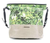 Carry Me! Beuteltasche grün/weiß