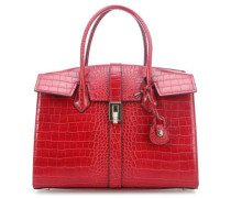 Suzanne Ecoleather Cocco Handtasche rot