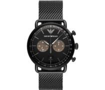 Classic Chronograph schwarz