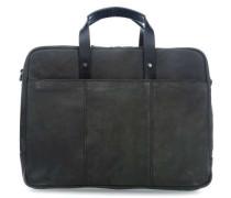 Hudson 16'' Aktentasche mit Laptopfach schwarz