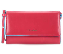 Blue Square Clutch cherry