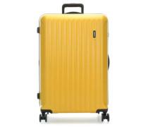 Riccione 4-Rollen Trolley gelb cm