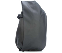 Coated Canvas Isar Medium Rucksack 15″ schwarz