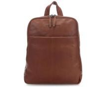Dex Laptop-Rucksack 15.4″ cognac