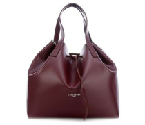Smooth Pur Bucket bag bordeaux
