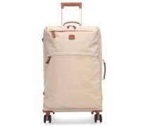 X-Travel 4-Rollen Trolley beige 65 cm