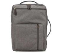 Buckner Rucksack-Tasche 15″ grau