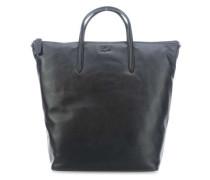 L1212 Cuir Shopper schwarz